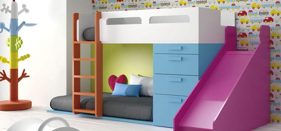 Dormitorios juveniles, tipos de acabados